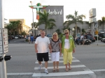 Brian, Susie & Lee on the way to get a 'Cuban Sandwich' for lunch on Saturday