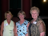 Pam Dupree, Jan Rogers, Linda Sinclair @ The Colliseum party