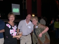Hamming it up! Sara Walker, Paul Pippenger, & Linda Sinclair @ The Colliseum
