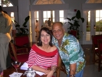 Beth Martin & Ron (husband of Linda Delmolino) @ The Don