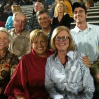 Some of the Beauchamp family at the Bogie game
