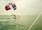 Fun on St Pete Beach with parasailing.