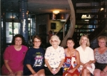 Our Girl Scout group with our leader! Sara Walker, Mary Atkinson, Mrs Atkinson, Teddy Oconnell, Susan Schumacher & Linda