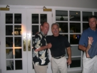 Sorry,it is blurred! Buzz David, Bo Ward, & Pete Dubbeld (Class '66) Don Ce Sar