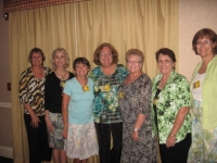 Troop 610: Sara Walker,Susan Schumacher, Teddy Oconnell, LeeAnn Meade, Linda Sinclair,Mary Atkinson, Gail Taber