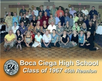 Boca Ciega Class of 67.......45th Reunion